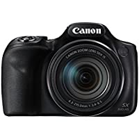 "Canon PowerShot SX540 HS Compact camera 20.3MP 1/2.3"" CMOS 5184 x 3888pixels Black - Digital Cameras (20.3 MP, 5184 x 3888 pixels, CMOS, 50x, Full HD, Black)"
