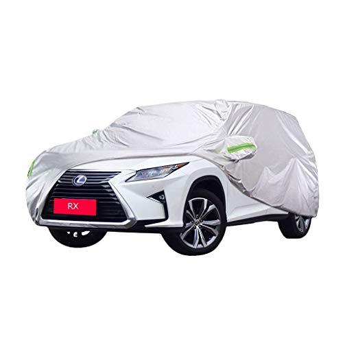 YXLcars Lexus RX Car Cover Dicke Autokleidung Regenschutz Autotuch Sonnenschutz Auto Cover (Color : RX450H)