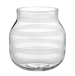 Kähler Design Glasvase Omaggio Klar 17cm