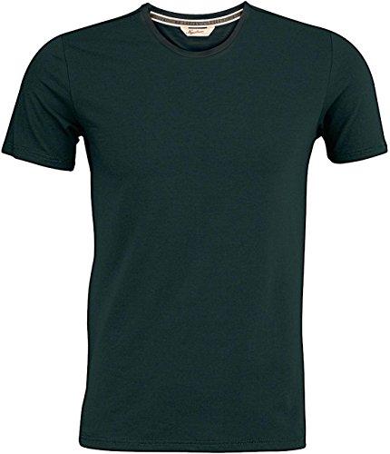 Kariban Vintage Herren Tee Erwachsene Crew Neck Short Sleeve Slim Fit Casual T-Shirt - Vintage Charcoal