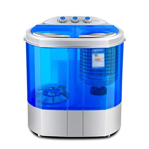 JYDQT Doppel Eimer Waschmaschine, Haushalts Mini Waschmaschine Kleine Halbautomatische Compact Washer Durchlässiger Tub