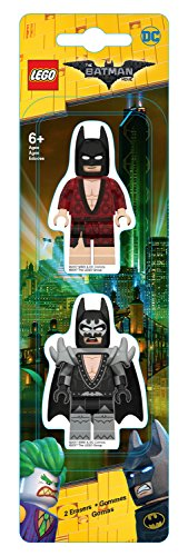 Lego 51758 – Radierer, Batman Movie, ca. 7,5 cm, 2er Set