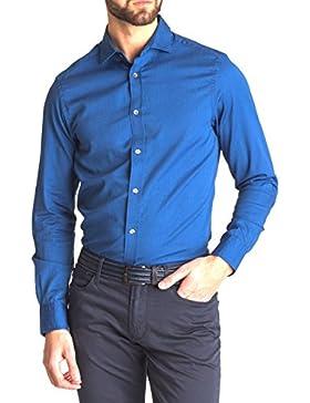Camicia ERMPORIO Armani Uomo Blu