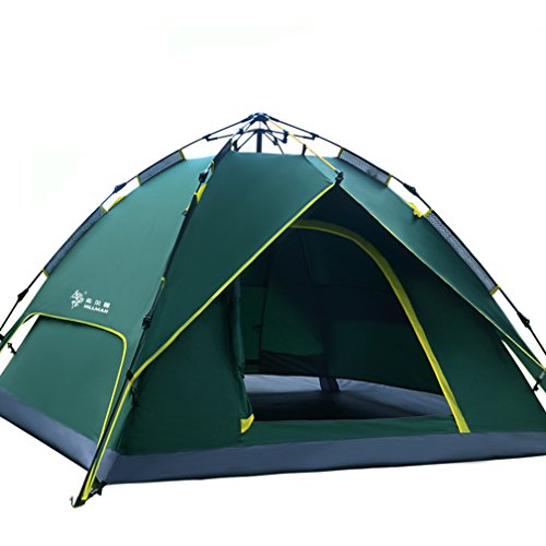 Automatic-Pop-Up-Tent-Backpacking-Tents-OUTAD-for-Outdoor-Sports-Camping-Hiking-Travel-Beach-with-Carrying-Bag-for-3-or-4-Person