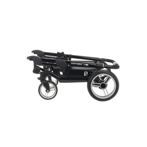 Obaby Zynergi Condor 4S Black Chassis with Seat Unit (Red)
