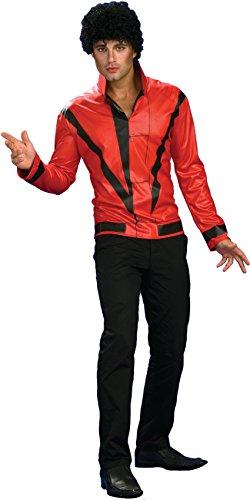 Roter Thriller-Blazer Medium (Thriller Erwachsene Jacke Kostüme)
