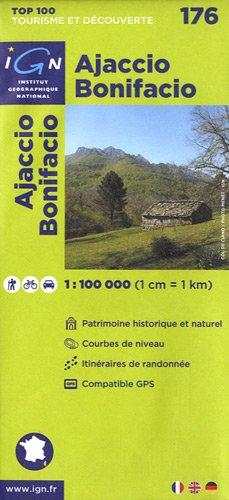 Top100176 Ajaccio/Bonifacio 1/100.000