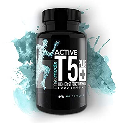 Active T5 Plus | Powerful Thermogenic T5 Fat Burner for Men & Women | Made from Natural Ingredients | Extreme T5 Fat Burning Supplement for Weight Loss by MaxMedix