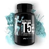 Potente QuemaGrasas Active T5 Plus - Suplemento Natural Para Acelerar El Metabolismo Y Eliminar La Grasa - Quemador De Grasas Para Perder Peso Y Ayudar A Definir La Musculatura - Tratamiento De 1 Mes