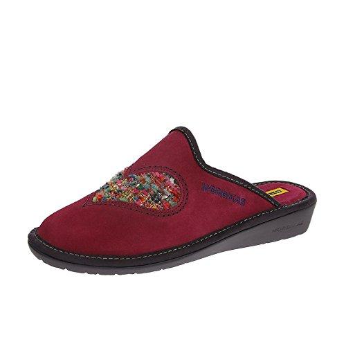 Nordikas Womens 8130/8 Plus Pantofole Fucsia EU38 Fucsia