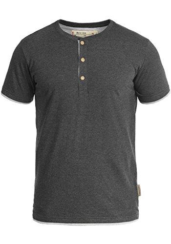 INDICODE Tony T-Shirt, Größe:L;Farbe:Charcoal Mix (915) -