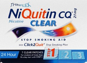 Niquitin Cq Patches Clear 21Mg 7 Pack by GlaxoSmithKline Consumer