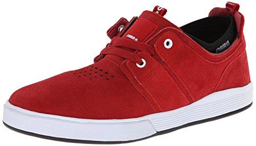 OSIRIS Skate Shoes DUFFEL KICKBACK RED/RED/CCC Size 11 (Osiris Duffel Herren)