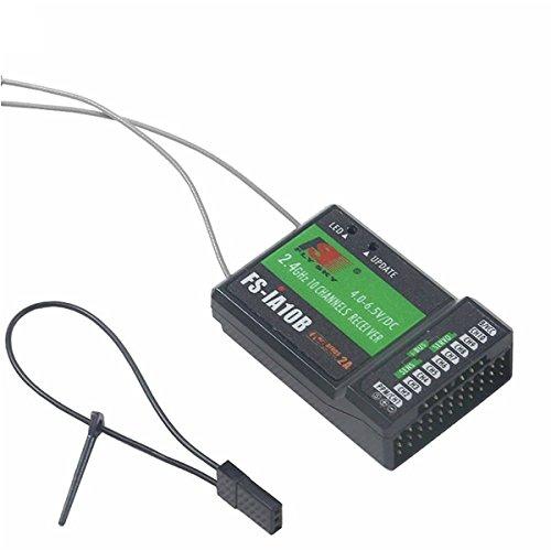 flysky empfaenger Flysky FS-IA10B 10CH Empfänger PPM-Ausgang kompatibel für FS-I4 FS-I6 GT2E GT2G FS-I10 FS-I6S FS-IT4S FS-GT5 Sender