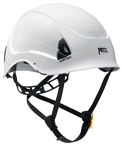 Petzl A20BWA Alveo Best casco leggero per il lavoro in altezza e Rescue, bianco