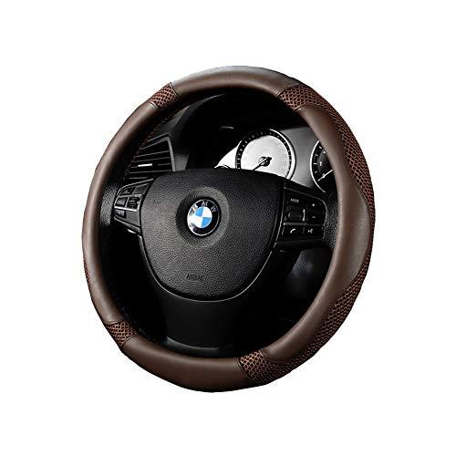 Coprivolante Comfort Grip per auto - da 14,17 a 14,96 pollici Accessorio automobilistico (Color : Black)