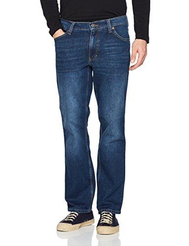 Mustang Herren Slim Jeans Oklahoma Blau (Dunkel)