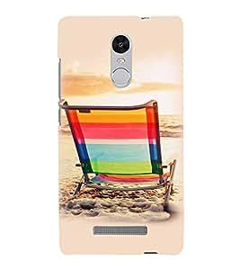 PrintVisa Travel Beach 3D Hard Polycarbonate Designer Back Case Cover for Xiaomi Redmi Note 3