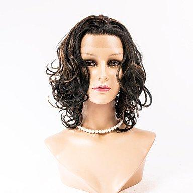 HJL-Kunsthaar Perücken Haarfrontkörperwelle Spitze-Perücken Promi-Stil Haarperücken für Art und Weise Frauen , light auburn - Promi Stil Spitze-perücken