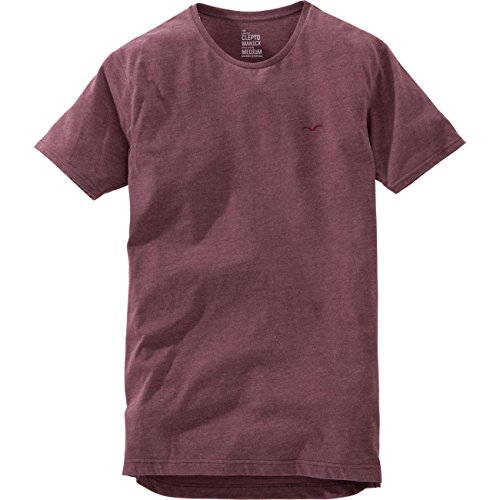 Cleptomanicx Herren T-Shirt bordeaux