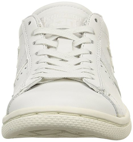Converse, Pro Leather Lp Ox Leather Sneaker,Unisex Adulto White Dust Monochrome