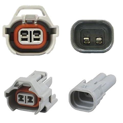 Connecteur d'injecteur - NIPPON DENSO (Set) - Fuel Injection Replacement Connector