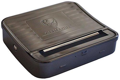 GERMANUS Zigaretten Rollbox Premium, Durchmesser 6 - 8 mm, Länge 70 mm, Rollmaschine, Stopfmaschine, Drehmaschine