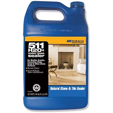 Miracle Sealants H2O PL GAL SG 511 H20 Plus Water Based Penetrating Sealer, Gallon by Miracle Sealants