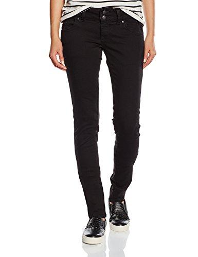LTB Jeans Damen Slim Jeanshose MOLLY, Gr. W25/L32 (Herstellergröße: 25.0), Schwarz (BLACK TO BLACK WASH 4796.0) (Rise Low Nieten-jeans)