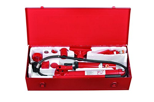 Hydraulischer Karosserie Ausbeulsatz 10T Richtsatz Karosseriepresse Werkzeug Set PP10B
