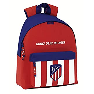 41KH5qKatbL. SS324  - Safta Mochila juvenil Atlético De Madrid Oficial 330x150x420mm