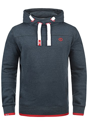 Solid Hoodie Sweatshirt (SOLID Benjamin Hood Kapuzenpullover, Größe:L;Farbe:Insignia Blue Melange (8991))