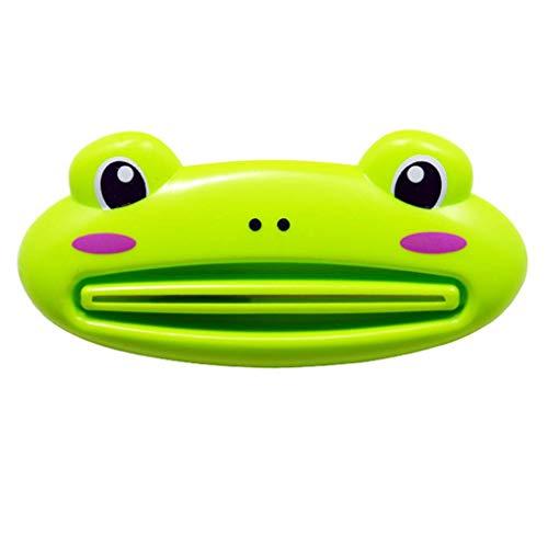 4 Unze Zahnpasta (Forbestest Cute Animal Multifunktions-Zahnpasta Presse Home Bad Gesichtsreiniger Dispenser Farbe Random)