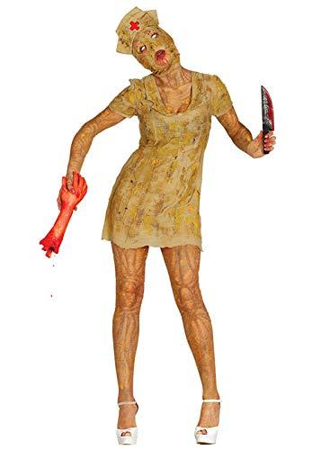 Hill Kostüm Silent - Magic Box Int. Silent Hill Stil Zombie Krankenschwester Kostüm Large (UK 14-16)