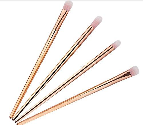 fangxin-4-pcs-make-up-set-di-pennelli-sopracciglia-ombretto-cosmetici-spazzole-rose-gold