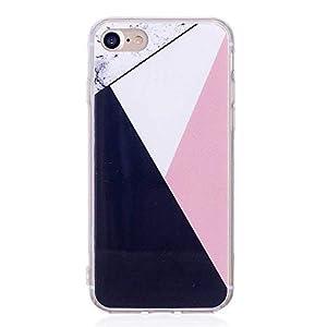 Bear Village® Hülle für iPhone 7 / iPhone 8, Ultra Dünn Soft TPU Schutzhülle, Schock Absorption Hülle kompatibel mit Apple iPhone 7 / iPhone 8, Farbe 1