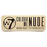 W7 In The Buff Natural Nudes Eyeshadow Palette Natural Nudes Eye Shadow Pallet For Stunning Eyes, Create The Look You Want From Natural To Smokey. These Beautifully Coordinated Shadows Give You A Professionally Contoured And Defined Eye That Allows Y...