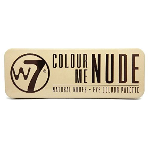 W7, In the Nude, Palette di 12 ombretti, 136 g