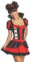 Regina di Cuori Teen Ager. Include vestito e copricapo