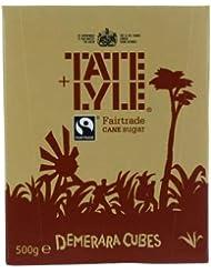 Tate & Lyle Fairtrade Demerara Sugar Cubes, 500g