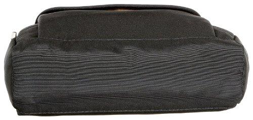 Bogner Flap 3 0043440206, Portafoglio donna, 19x20x8 cm (L x A x P) Nero