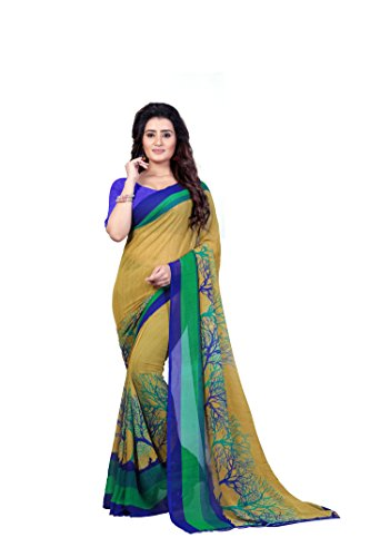 Kashvi saree Women's Saree with blouse piece (1341_Multicoloured_Free size)