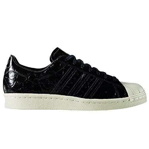 adidas Originals Superstar 80s W, core black/core black/off white core black/core black/off white