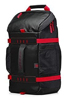 "HP Odyssey - Mochila para portátiles de hasta 15.6"" de Color Rojo (335 x 155 x 465 mm) (B01GTC6VXM) 