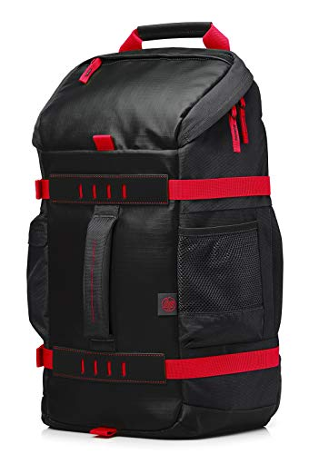 HP Odyssey (X0R83AA) Sport Rucksack (15,6 Zoll) schwarz / rot