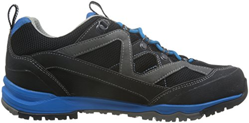 AKU Herren 710-253 Gore Tex Outdoor Wanderschuh Mio Surround GTX Black/Turqoise Schwarz