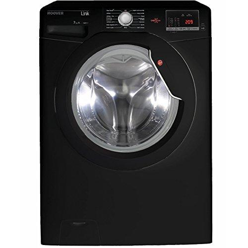 Hoover DHL1672D3B 1600rpm Washing Machine 7kg Load Class A+++ Black
