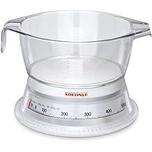 Soehnle Vario 65418 Bilancia da cucina, colore: Bianco limpido