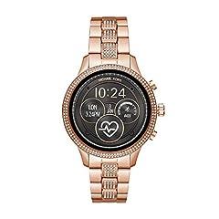 Idea Regalo - Michael Kors Smartwatch Donna con Cinturino in Acciaio Inox MKT5052