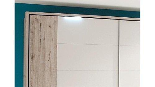AVANTI-TRENDSTORE-Armadio-con-ante-scorrevoli-in-colore-quercia-bianco-ca-270x225x61cm